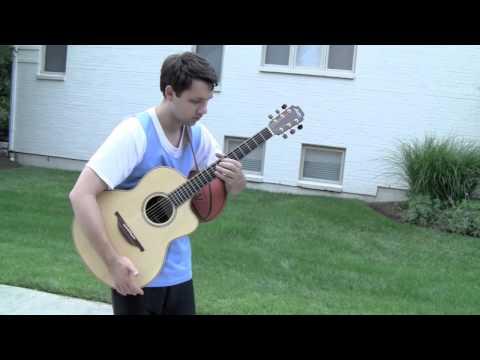 Como Ben Lapps joga violão e toca basquete