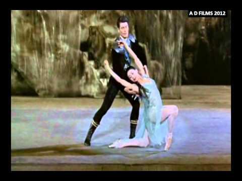 'Ondine' (1960). com Margot Fonteyn, Michael Somes e Royal Ballet.