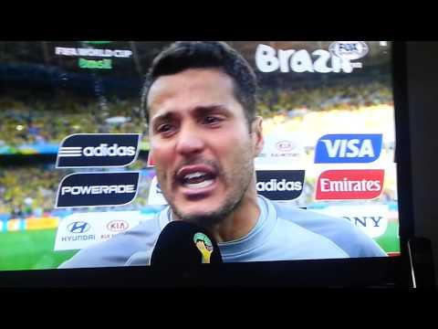 Entrevista Julio César Copa do Mundo FIFA WorldCup