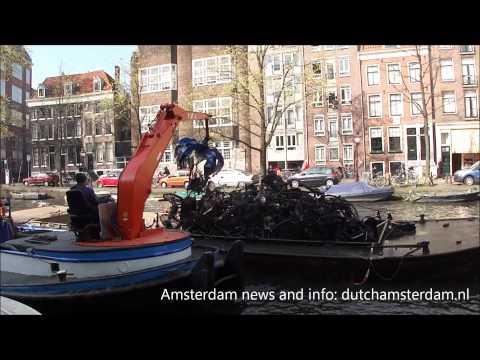 A pesca das bicicletas