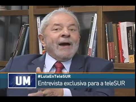 Entrevista exclusiva para a teleSUR com o ex-presidente Luis Inácio Lula Da Silva