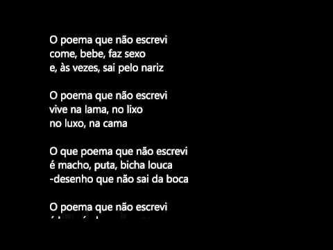 poesia - indecifrável