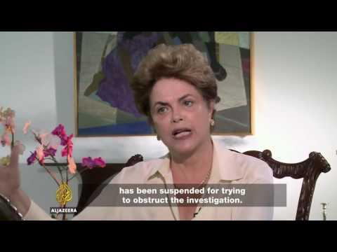 Presidenta Dilma Rousseff em entrevista entrevista à TV Al Jazeera