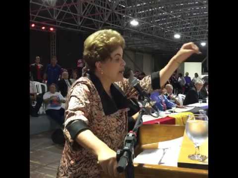 Dilma Roussef discursa em João Pessoa/PB