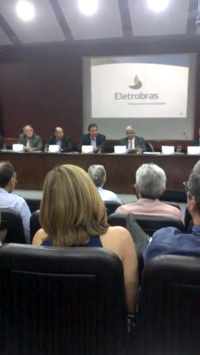 Wilson Ferreira Jr contra privatização da Eletrobras