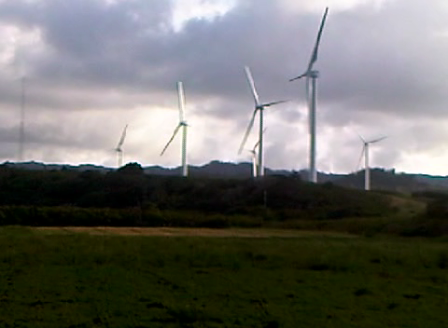 Wind Farm Doing Nothing!
