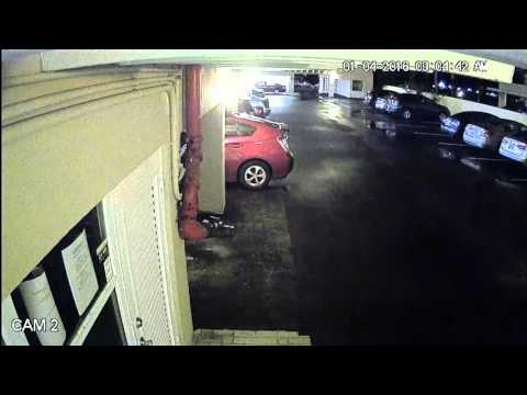 Car Burglary Surveillance Video