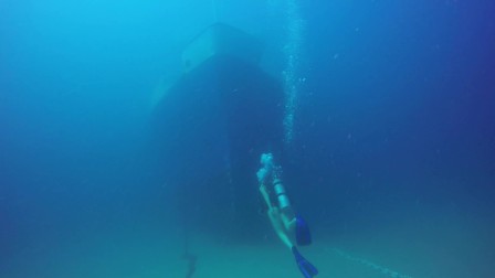 Scuba Nation underwater video of the Ana Cecilia