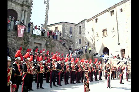 corona y espina en caceres 2009 video 1