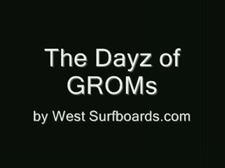 the Dayz of Groms