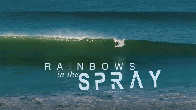 RAINBOWS IN THE SPRAY  |  North Devon