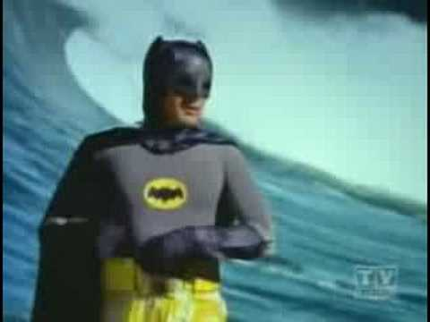 Batman Surfing