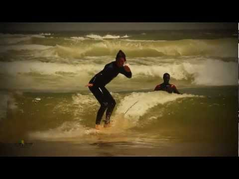 surfing with NGor Island Surfcamp in Senegal