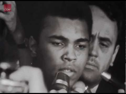 Muhammad Ali interview on not joining the army