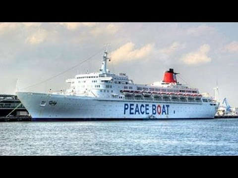 Japan's Peace Boat Journeys to Confront Buried Crimes of the Past & Build Ties for a Hopeful Future