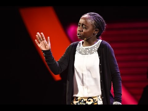 Poet, 10, from the slums of Nairobi enthralls crowd in New York City with tearful words