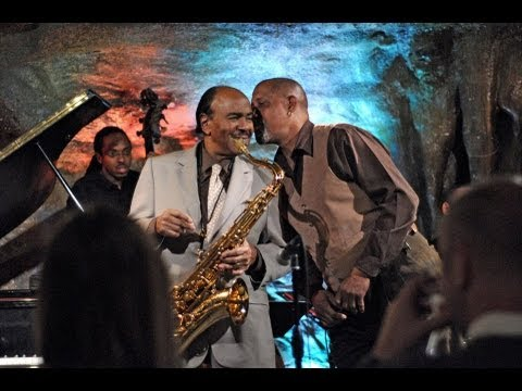 "NEA Jazz Master Benny Golson & ""The Jazz Scatter"" Surprise Guest George V Johnson Jr."