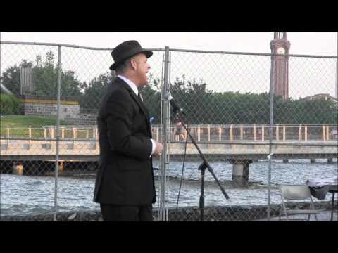 Hoboken Sinatra Idol Winner James Anthony 6-14-2012