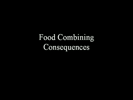 The biggest secret in nutrition - Food Combining - Consequences