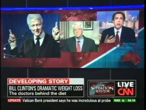 Doctors Explain Healthy Way for Bill Clinton's Dramatic Weight Loss