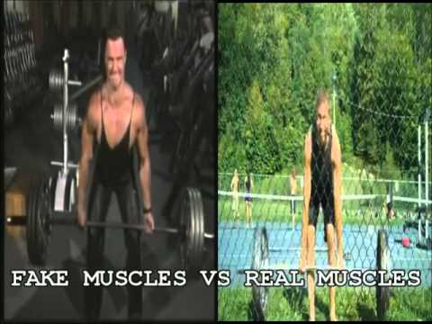 Fake Muscles Vs Real Muscles