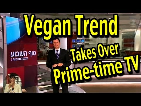 The Vegan Revolution Takes Over Prime-time TV in Israel