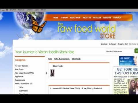 The Raw Food World Sells Deer Antler?? + The Truth Matt & Angela don't want you to know about it.