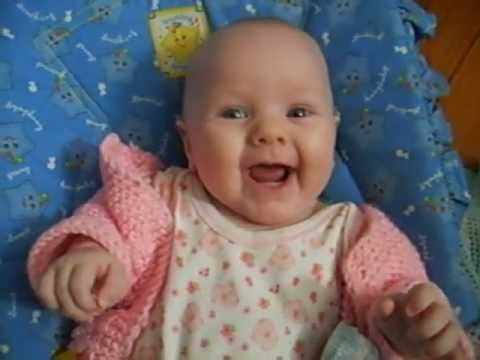 Happy Talking Baby - 3 month old