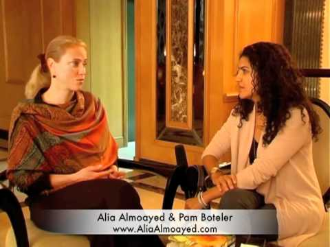 Alia Almoayed with 811rv athlete Pam Boteler