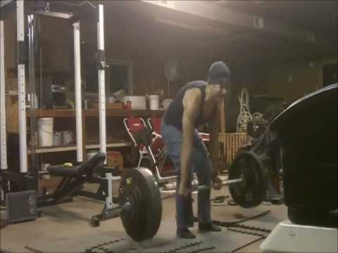 Fruitarian Deadlifting Session 10.20.12