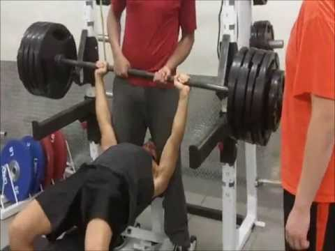 "405-455 lb ""But what about calcium?"" Vegan Bench Press Static Holds"