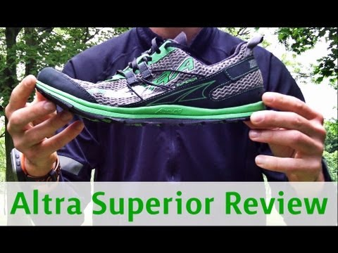 Altra Superior Trail Shoes Review