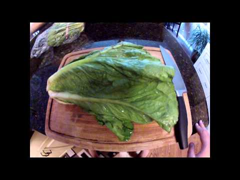 How to make noodles out of romaine lettuce