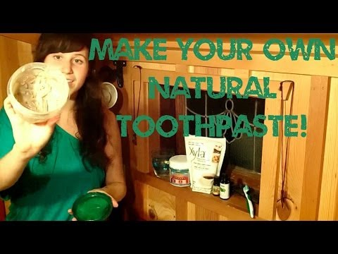Raw Homemade Toothpaste