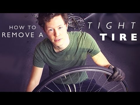Quick Cycling Tip: How To Remove A Tight Tire Easy