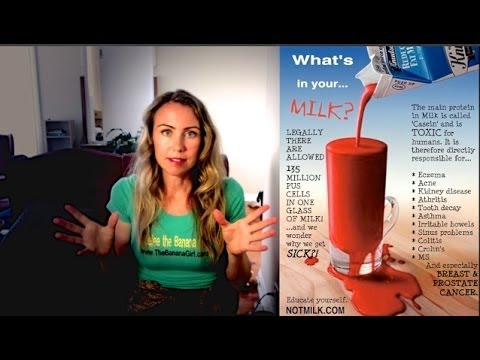 Drinking MILK causes Cancer & Weight gain? [warning graphic content]