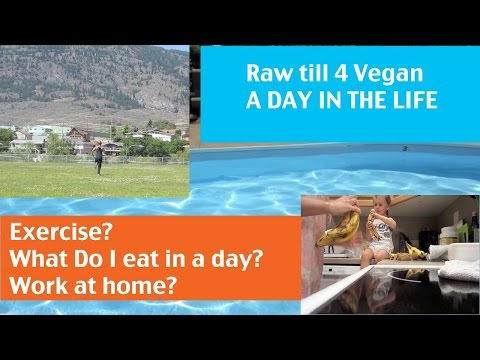 Raw till 4 Vegan: A Day in the Life. June 2014