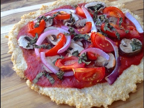HCLF Veggie Pizza with Brown Rice Crust
