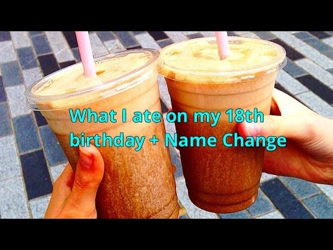 What I Ate as an 801010 Raw Vegan On My 18th Birthday + NAME CHANGE