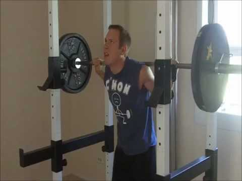 Fruit and Strength: 225 lb Squat Warmups (Great for your BUTT!)