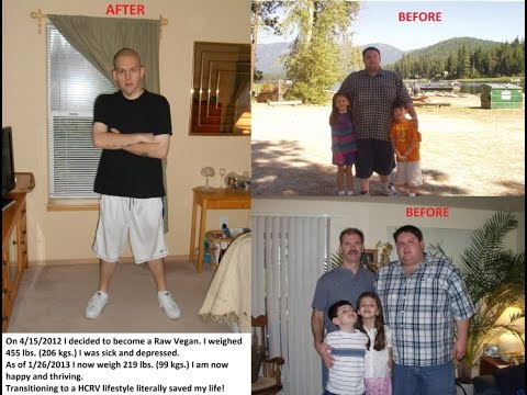 240 lb. Raw Vegan Weight Loss