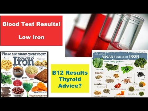 Low Iron: Blood Test Results & Advice?