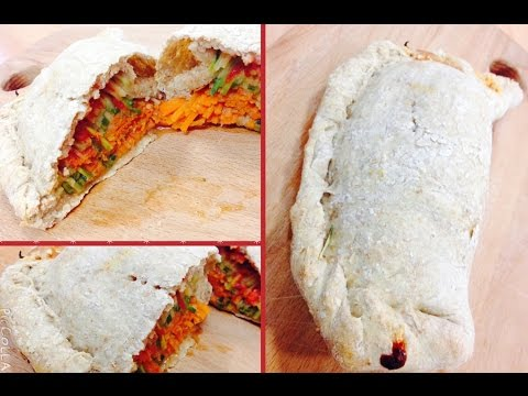 Vegetable Pasty! HIGH CARB VEGAN
