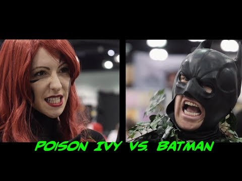 Poison Ivy vs. Batman! Who will win?