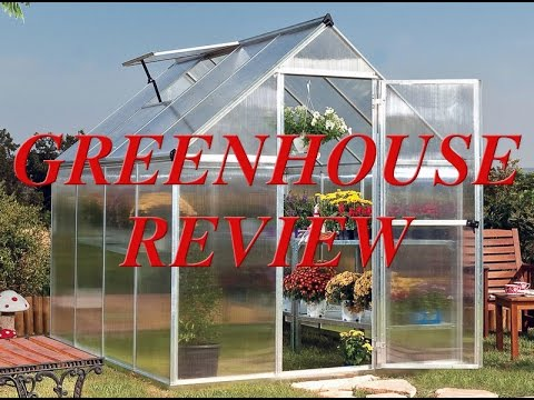 Mythos 6x8 Greenhouse Review
