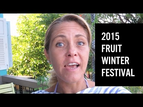 Fruit Winter Festival 2015, Chiang Mai, Thailand