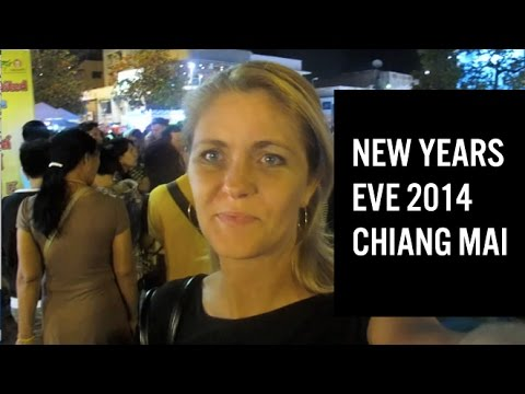 My new years eve in Chiang Mai 2014