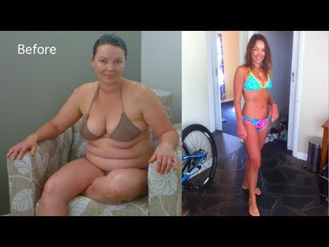My 40lb weight loss on a Raw Food Diet! Before and After video