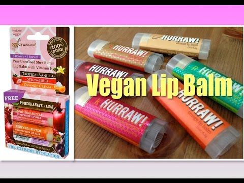 The Best Vegan Lip Balms | My Favourites and Other Options