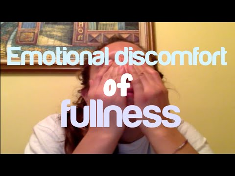 Emotional Discomfort of Fullness